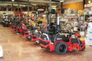 Selection of Lawn Mowers